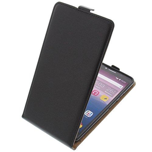 foto-kontor Tasche für Alcatel Pixi 4 6.0 4G Smartphone Flipstyle Schutz Hülle schwarz
