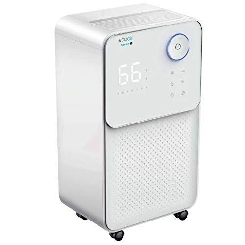 EcoAir   Summit S Dehumidifier  12 Litre/Day   Quiet 36 dBA   Carbon Filter   Electronic Control   Laundry Mode   Timer   Child Lock   Sleep Mode   Large Humidistat Display   2 Year Warranty