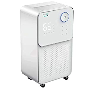 EcoAir | Summit S Dehumidifier |12 Litre/Day | Quiet 36 dBA | Carbon Filter | Electronic Control | Laundry Mode | Timer | Child Lock | Sleep Mode | Large Humidistat Display | 2 Year Warranty