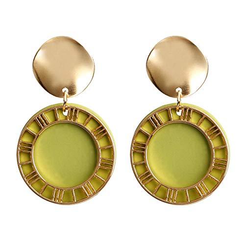 Earrings Women Studs Earrings Creative Retro Sequins Ear Studs Fashion Women S Earrings Jewelry-2