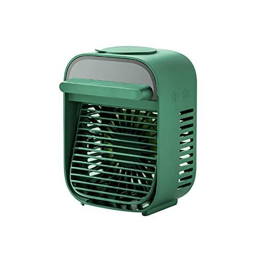 Mini Enfriador De Aire, Aire Acondicionado PortáTil,3 Niveles De Potencia,para El Hogar Oficina,Mini Acondicionador De Aire MóVil,Ventilador De Escritorio