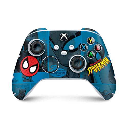 Skin Adesivo para Xbox Series S X Controle - Homem-Aranha Spider-Man Comics