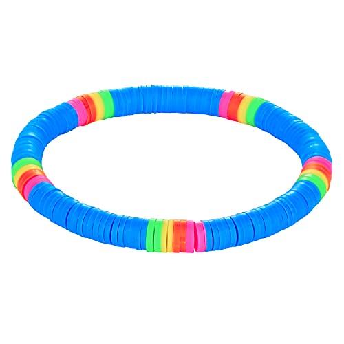 KELITCH Bracelet en Perles De Tila Bracelet Élastique Coloré Bracelets Linge en Miyuki Bracelet Arc-en-Ciel pour Femmes
