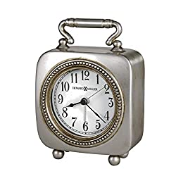 Howard Miller Kegan Table Clock 645-615 – Dial Light with Quartz Alarm Movement