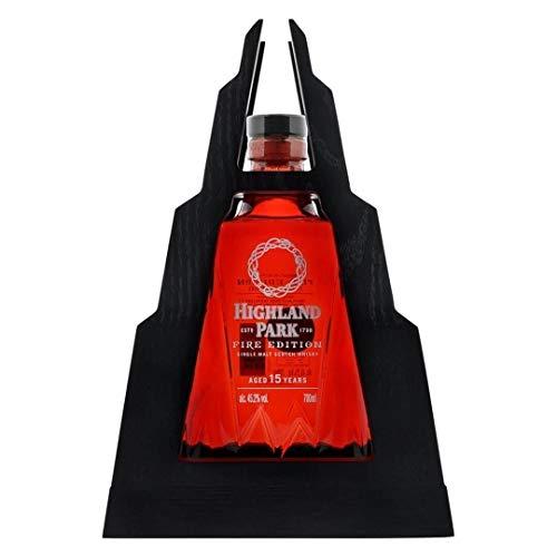 Highland Park FIRE Edition 15 Jahre alt Whisky mit Geschenkverpackung (1 x 0.7 l)