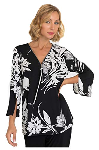 Joseph Ribkoff Black & White Top Style - 193649 Fall 2019 Hot Styles (20)