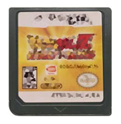 TYLJ MYBHD DS Juego Cassette Game Console Card Dragon Ball Series English versión aplicable a Nintendo DS 3DS 2DS (Color : Attack Sayans USA)