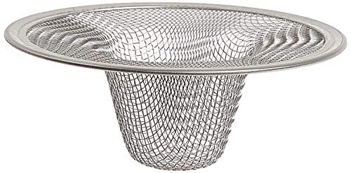 Danco 88821 2-3/4-Inch Tub Mesh Strainer, Stainless Steel, Silver