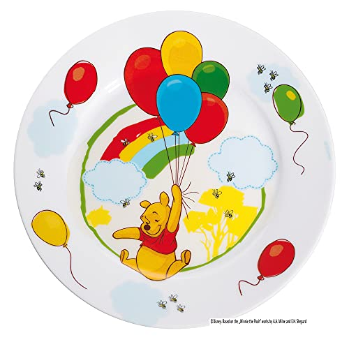 WMF Disney Winnie the Pooh - Plato para niños de porcelana, Ø19cm (WMF Kids infantil)