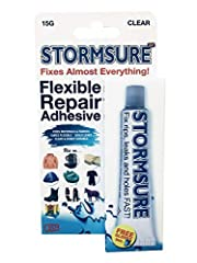 flexible and waterproof ideal for making waterproof repairs on wet suits, drysuits, boots, gloves, and more