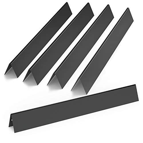 Onlyfire Gas Grill Ersatz Porzellan emailliert Flavorizer Bars/Flammenverteiler für Weber 7536, Set 5, 22 1/5,1 cm