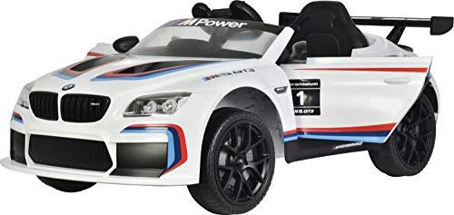 Kinderfahrzeug BMW M6 Sport GT3 Elektroauto Kinder Auto Mp3 USB RC Bluetooth