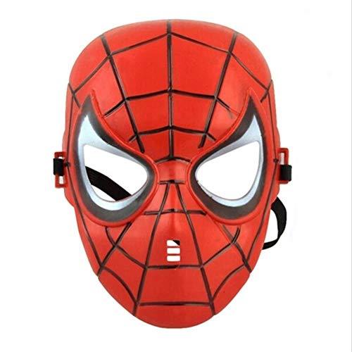 AISHANG Superheld Halloween Darth Vader GesichtAmerika Spider Hulk GesichtEisen Batman Star Wars Gesicht, Spiderman