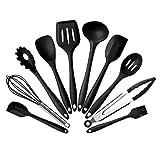 Monllack - Juego de utensilios de cocina de silicona (10 unidades)
