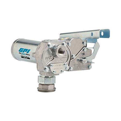 GPI - M-150S-PO Fuel Transfer Pump, Pump Only, 15 GPM Fuel Pump, Power Cord, Spin Collar (110000-103)