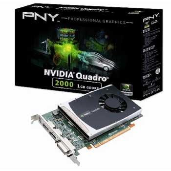 PNY NVIDIA Quadro 2000 by Grafikkarte PCI Express 1024 MB GDDR Quadro 2000