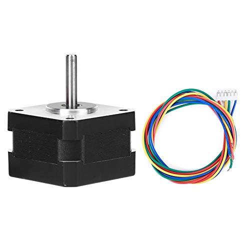 Samfoxy Schrittmotor-Samfox Schrittmotor NEMA 17 Schrittmotor 17HS2408S Schrittmotor 3D-Druckerzubehör mit 4-poligem Kabel