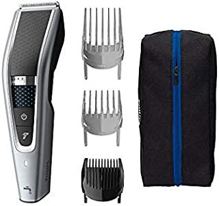 Philips Washable Hair Clipper Series 9000 with 28 Length Settings (0.5-28mm) & 90 min Cordless Use/1hr Charge, HC5630/15