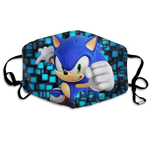 Mundschutz Sonics-Mania-Hedgehog Gesichtsschutz Gesichtsschutz Mundschutz Gesichtsschutz Stirnband Schal Bandanas Kinder Männer im Freien