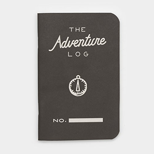 Word Notebooks Adventure Log - Black 3-Pack - Traveler's Notebook Photo #2