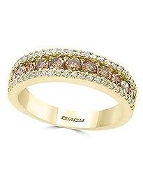 14K YELLOW GOLD DIAMOND,ESPRESSO RING WZ0D770D54