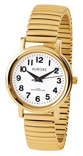 Aurore Reloj Analógico para Mujer de Cuarzo con Correa en Acero Inoxidable AF00017