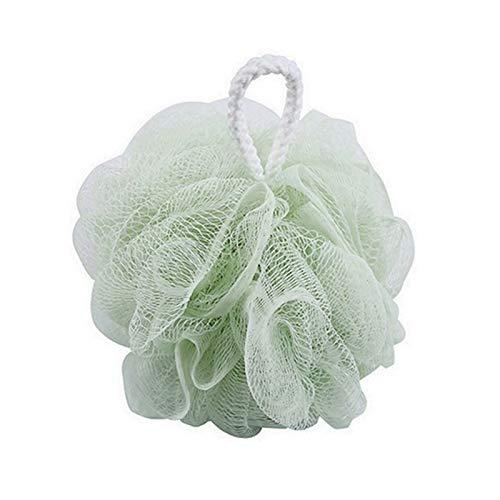 Cepillo de baño Loofah Bañera Bola Malla Esponja Milk Ducha Accesorios de baño Baño Flor Super Soft Body Cepy Baño Suministros 1 Fácil de Usar, cómodo y Suave. (Color : Green)