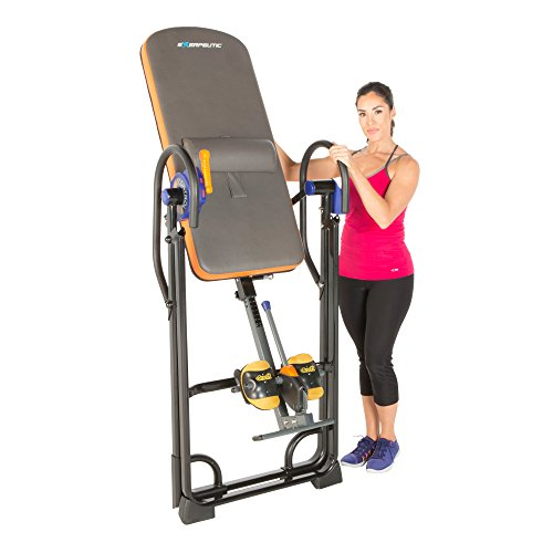 Product Image 7: Exerpeutic 975SL All Inclusive Heavy Duty 350 lbs Capacity Inversion Table with Air Soft Ankle Cushions, Surelock and iControl Systems