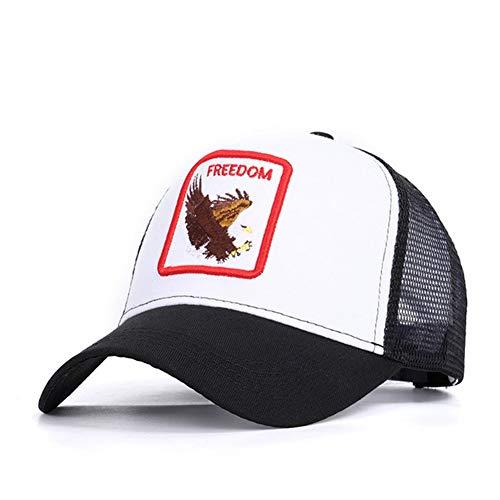 Gorras de béisbol con Bordado de Animales de Gallo Sombreros Netos de Verano de sombrilla Exterior Ajustable Universal para Hombres y Mujeres