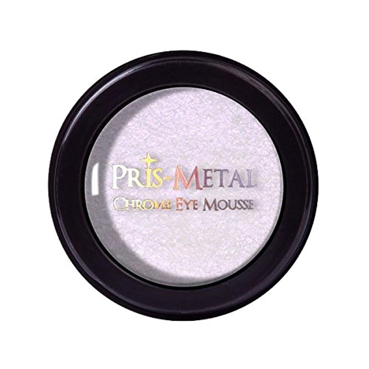 副サークル彼女の(3 Pack) J. CAT BEAUTY Pris-Metal Chrome Eye Mousse - Pinky Promise (並行輸入品)