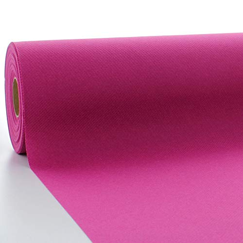 Sovie HORECA Tischdeckenrolle aus Linclass® Airlaid 120 cm x 25 m, 1 Stück (Violett)