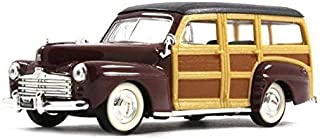 Yat Ming Ford Woody Station Wagon 1948 Model 1/43 Scale Collection Diecast Car
