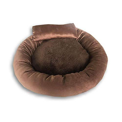 jiwenhua Pet Products net red Egg tarts pet Nest mat deep Sleep cat Nest Dog Nest small and medium Size Dog, Kaffee, groß (XL)
