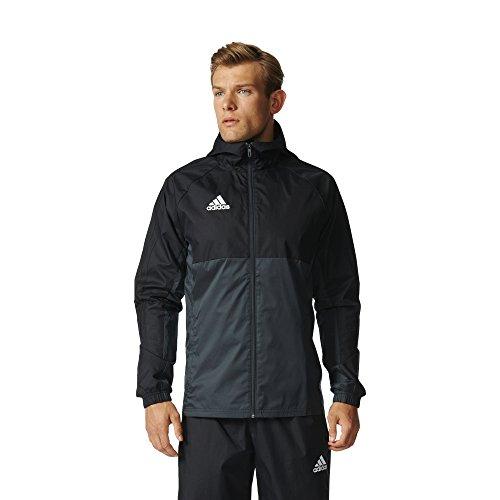 adidas Men's Soccer Tiro 17 Rain Jacket (Small)