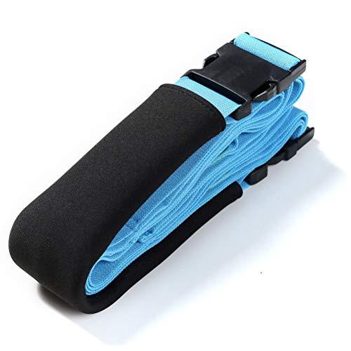 Cinturón de ballet de fitness con anillos en D expansores de resistencia, bandas de entrenamiento corporal, banda de ejercicio para ejercicio en casa