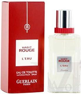 Guerlain Habit Rouge L'Eau For Men 100ml - Eau de Toilette