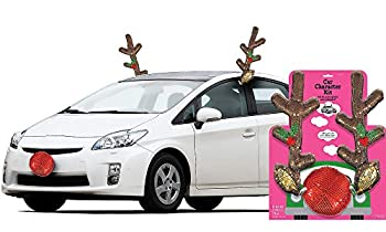 Amscan Glitzy Christmas Reindeer Car Kit 3 Count