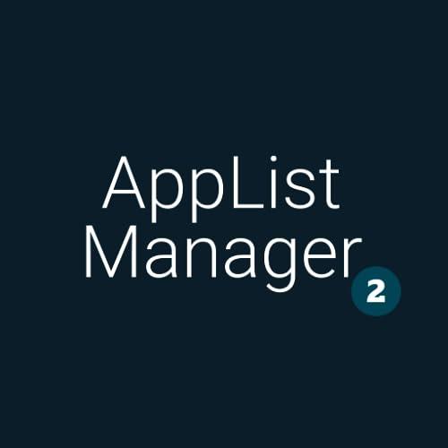 AppList Manager v2