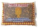 Inca's Food Papa Seca Amarilla/Yellow Dried Potato 15oz (425g Single Bag) - Product of Peru