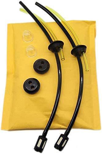 YouMeDream - Juego de 2 filtros de gasolina universales para desbrozadora, cortasetos, podadora, cortasetos, podadora