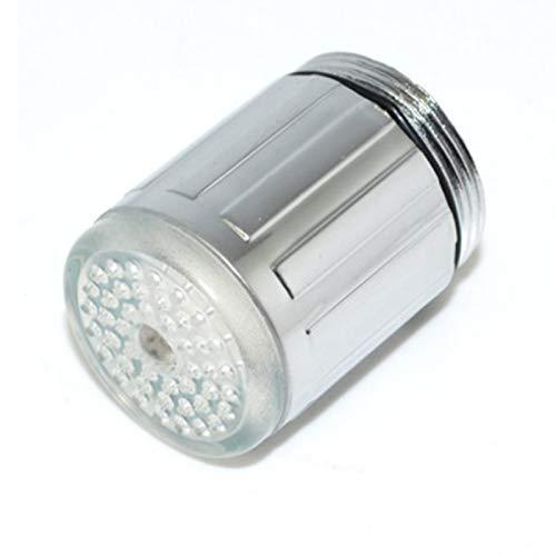 Cabezal de Ducha Niños Lavarse Manos Grifo LED Resplandor Sensible a La Temperatura Luz LED Cocina LED Grifo Aireador para Cocina las Manos Grifo LED con Control de Temperatura de Color Agua Corriente