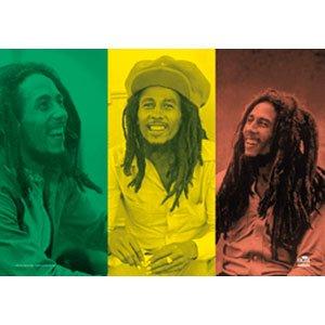 Bob Marley Collage Flagge/flag/flagge