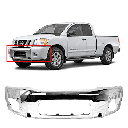 04 Nissan Pathfinder Front Bumper - 1