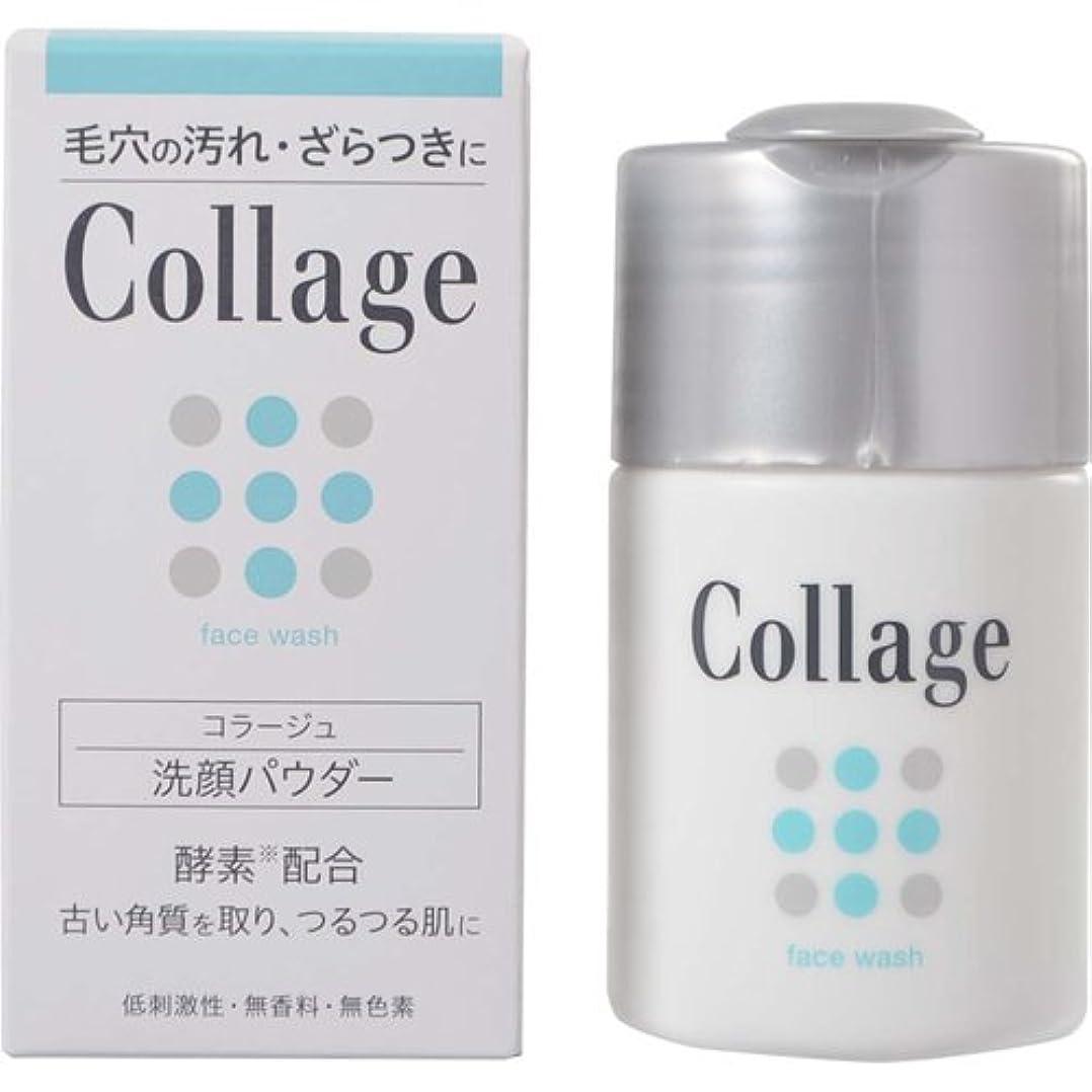 暗くする透過性傷つけるコラージュ 洗顔パウダー 40g