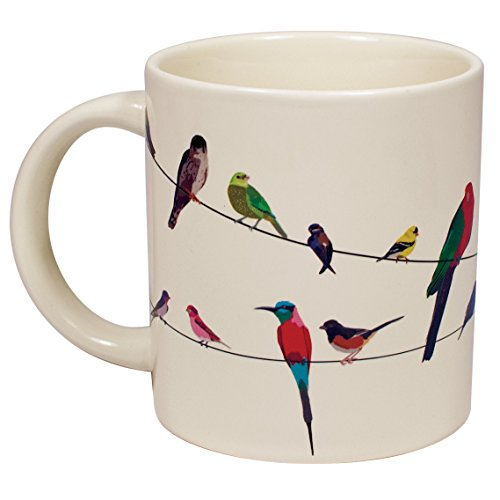 Birds on a Wire Heat Changing Mug