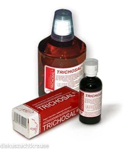 manaus-aquarium TRICHOSAL® gegen Bakteriosen und Pilzinfektionen 500 ml für 10000 Liter