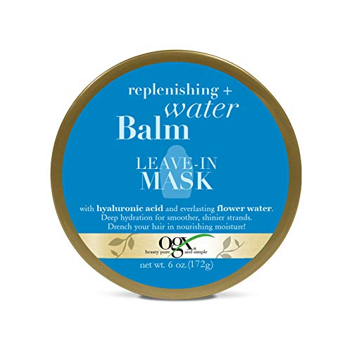 OGX Replenishing + Water Balm Leave-In Mask, 6 Ounce
