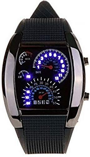 Pappi-Haunt Armbanduhr mit Tachometer-Display, Modell mit verstellbarer Helligkeit