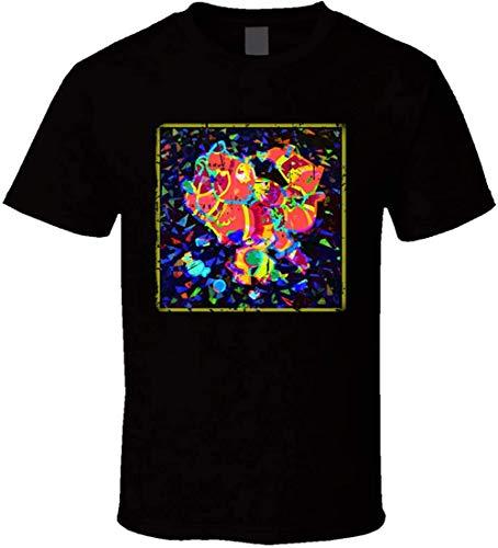 The Quick Brown Fox Nerve's Ending Poster Album Cover T-Shirt,Black,Medium