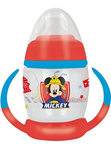 Mickey Mouse st-44026 Mok Training 270 ml met siliconen mondstuk to the Rescue '